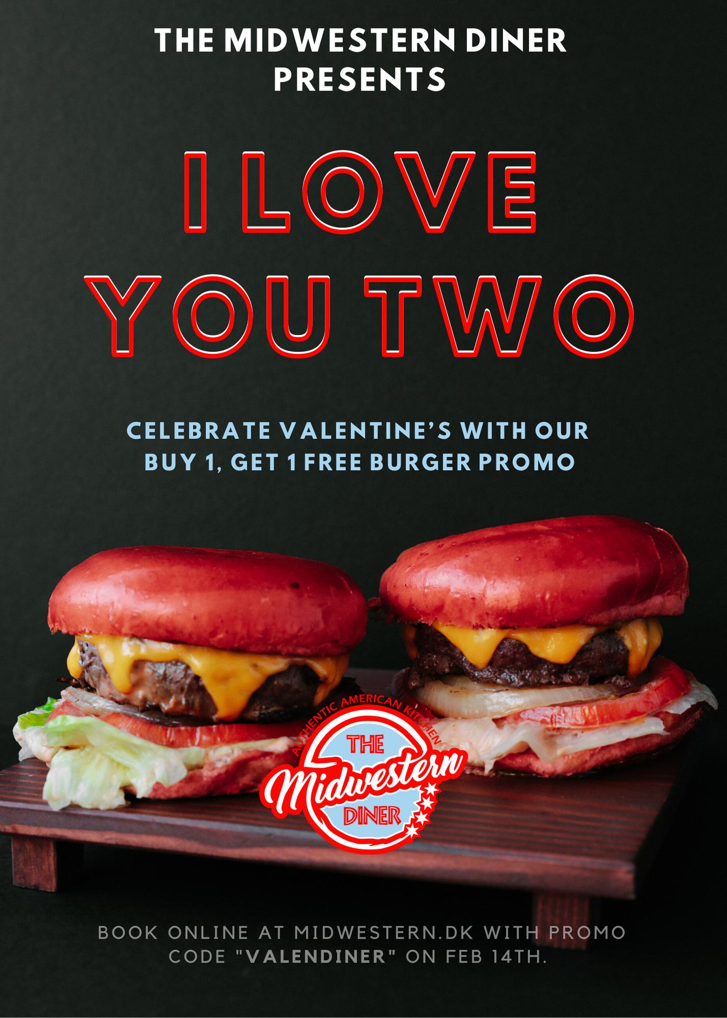 Valentine's tilbud info